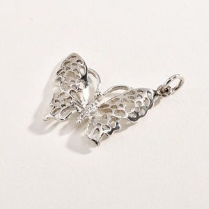 Sterling 925 Butterfly Pendant
